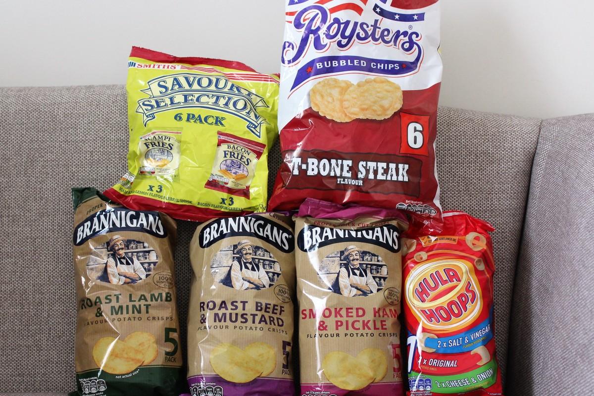 So Many Crisps…