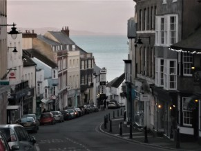Downtown Lyme Regis