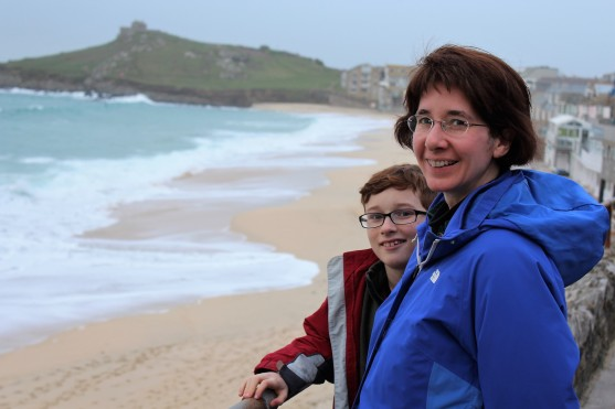 Marilynn and Declan at St. Ives