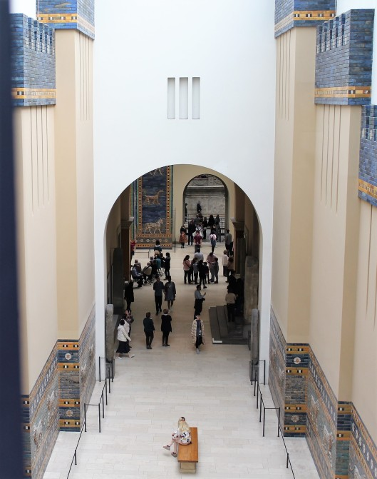 Processional way of the Ishtar Gate of Babylon
