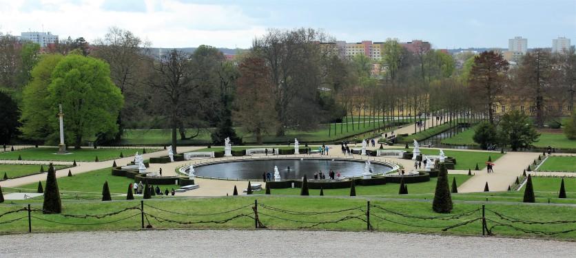 Italian-style garden