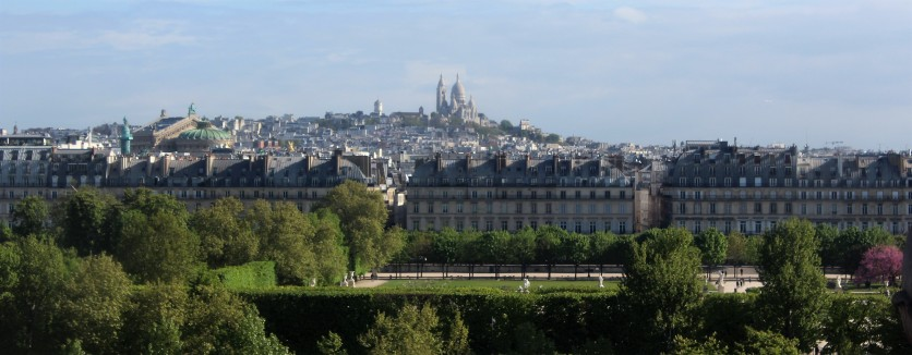 View of Paris from the Musee D'Orsay