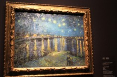 "Van Gogh's masterpiece ""The Starry Night."""