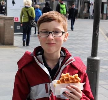 A true Belgian waffle