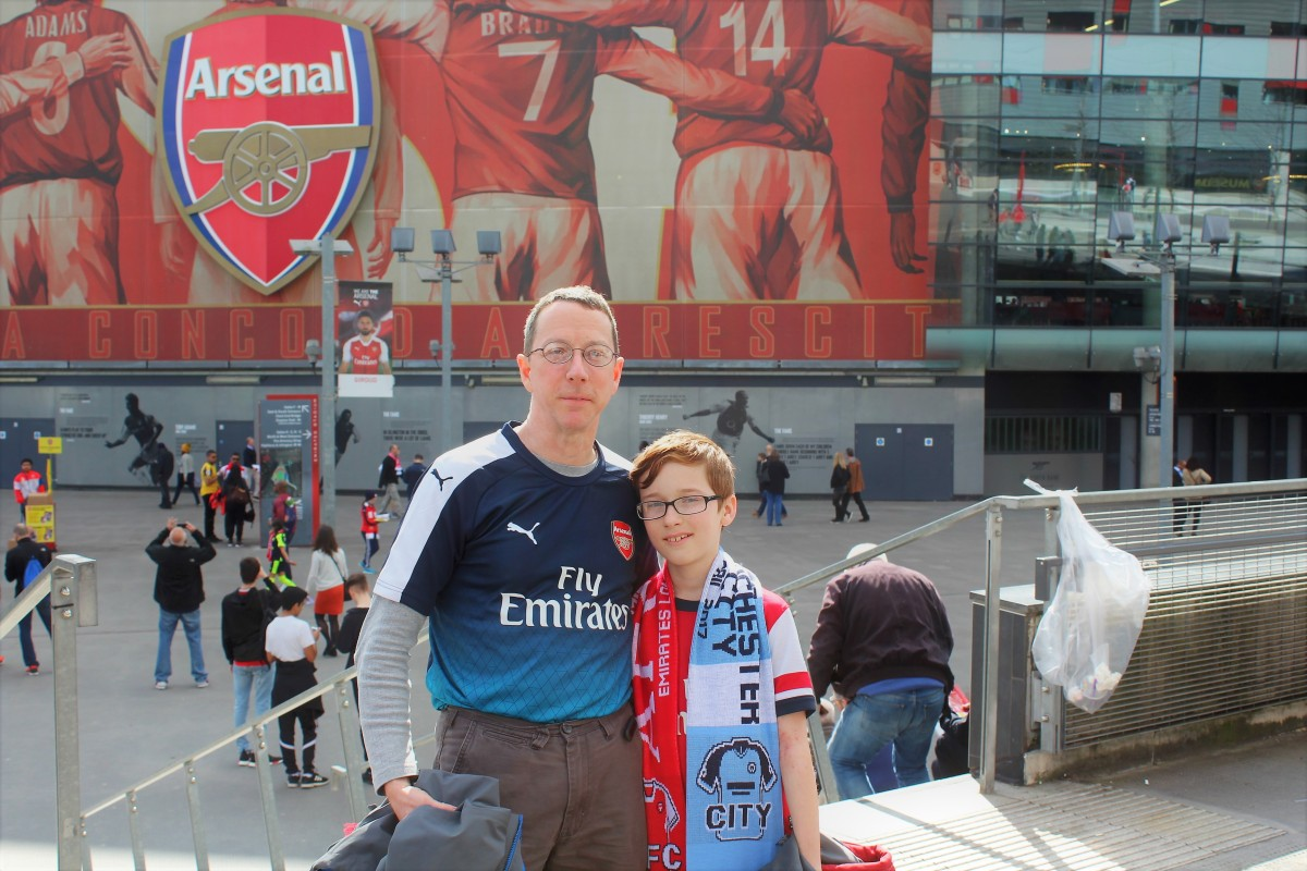 'Brilliant' Afternoon at Emirates Stadium