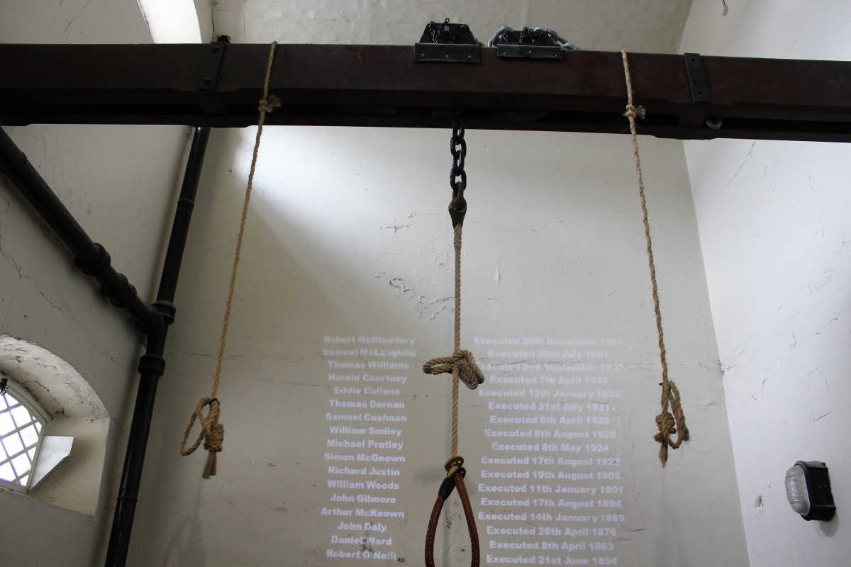 No Place to Poop: Crumlin Road Gaol
