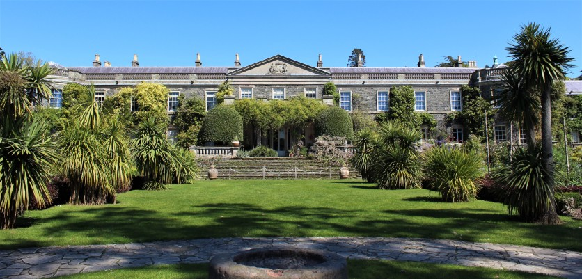 Mount Stewart house in all its glory.