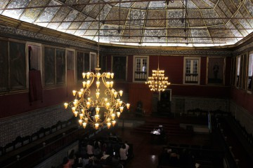 Student exams and important academic ceremonies take place in the Paço das Escolas (the original Royal Palace).