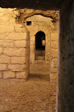 The old Roman cryptoprotico features many rooms and passageways.