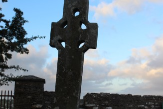 Cooley Cross allegedly erected by Saint Patrick, near Greencastle.