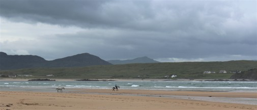 Five Fingers Strand beach in County Donegal.