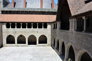 Courtyard at the Ducal Palace of Braganza.