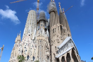 Nearly 130 years after construction began, the towers at La Sagrada Família are scheduled to be complete by 2026, the 100th anniversary of Gaudi's death.