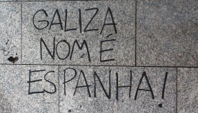 Spanish troubles: A portion of Galicia does not want to be part of Spain.