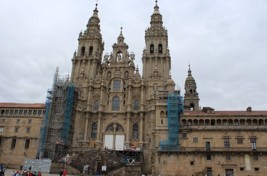The Cathedral de Compostela is official end to a pilgrimage that 200,000 undertake each year.